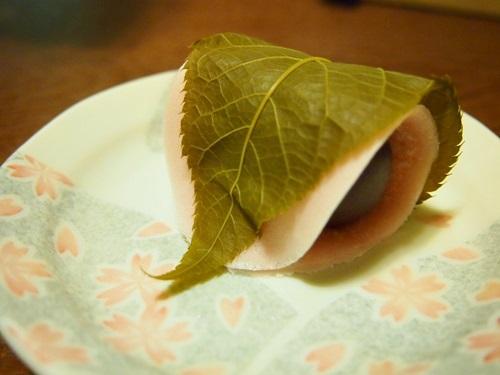 P3134202 虎屋の桜餅