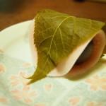 虎屋の桜餅(季節の生菓子3月)