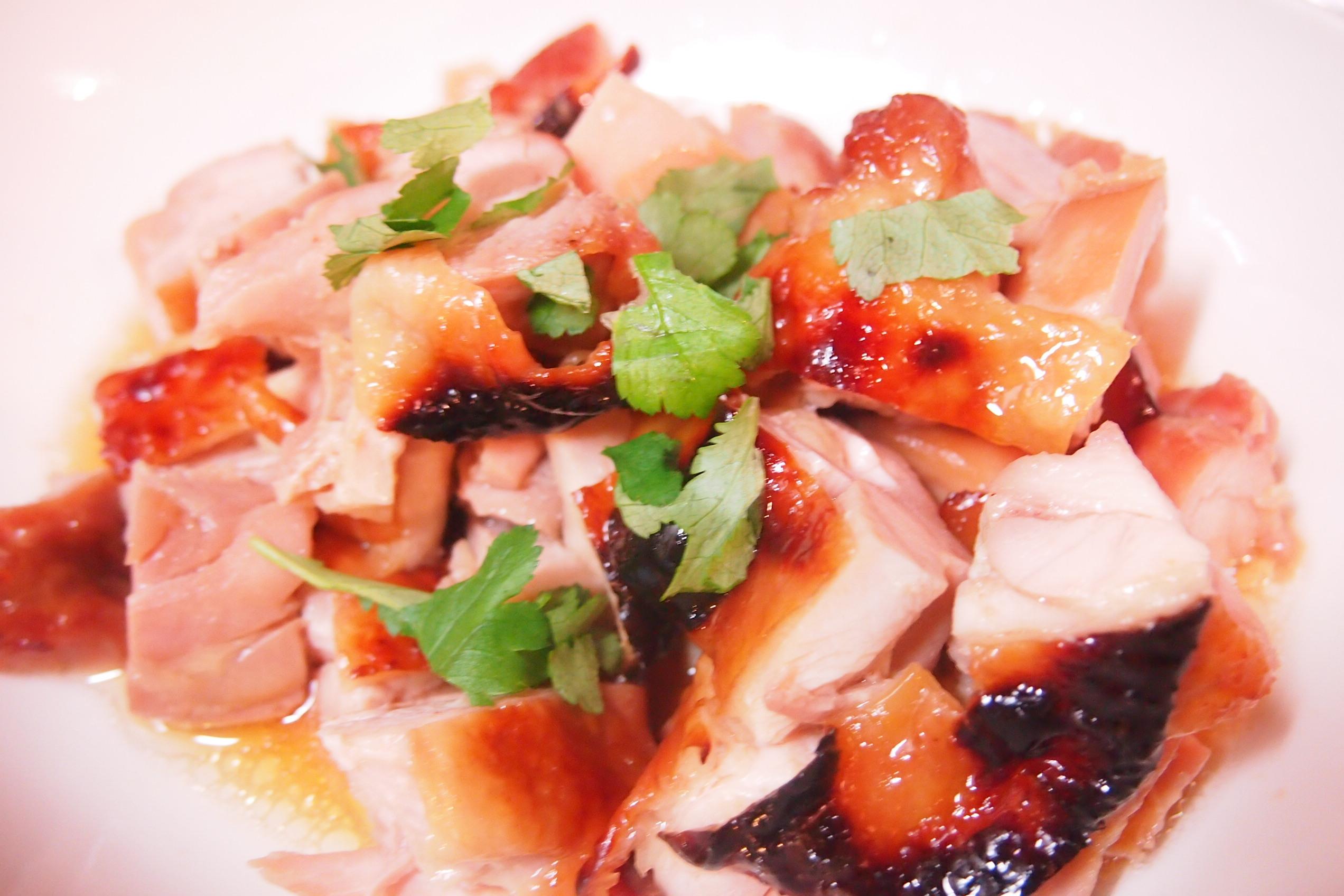 P3281935 簡単に出来るレシピ「鶏肉のハチミツ焼き」