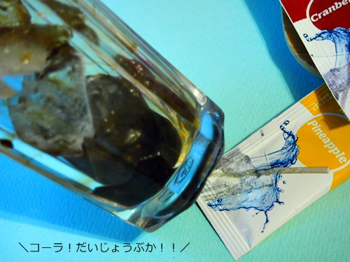 P4085131 夏に。炭酸水に混ぜられるSodaSparkleソーダスパークルの8種類のフレーバーで大はしゃぎ