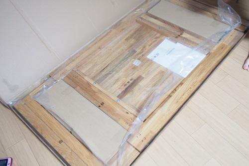 P6096199 IKEAダイニングテーブル