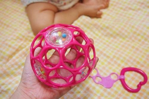 P6143258 赤ちゃんが遊びやすいオーボール