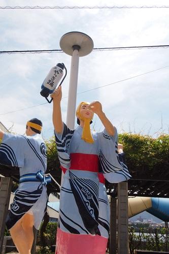 P8071009 [広島]やっさ祭り前の三原駅周辺の散策~タコを求めて~