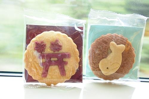 広島アンデルセンのクッキー(宮島クッキー、スナメリクッキー)