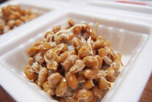 極小粒納豆 混ぜたところ