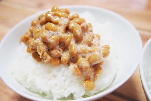 北海道の小粒納豆ごはん