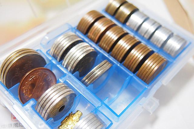 100円ショップのコインケース