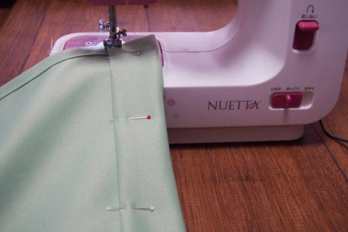 ヌエッタでカーテンの長さを整える