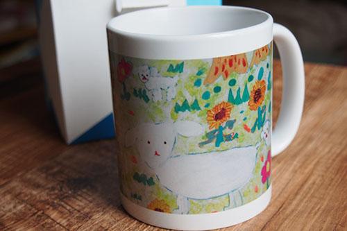 P9037882 子どもの絵でマグカップ