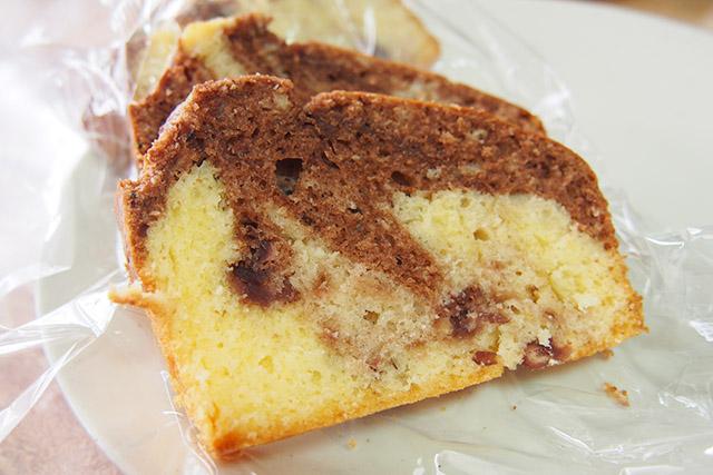 パウンドケーキ ココア味