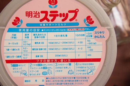 9ヶ月から飲ませるミルクの量の目安