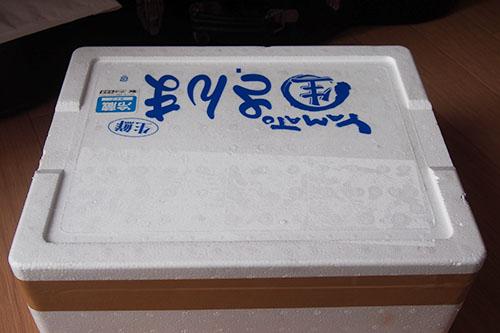 サンマ通販の箱