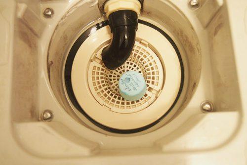 お風呂の排水口に使った例