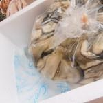 【お歳暮】生カキの贈り物は、殻なしが便利でした