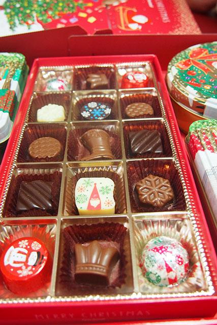 ゴンチャロフ クリスマス チョコレート