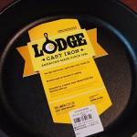LODGE(ロッジ)の鉄製フライパンで焼きなす作ったら美味しくできました