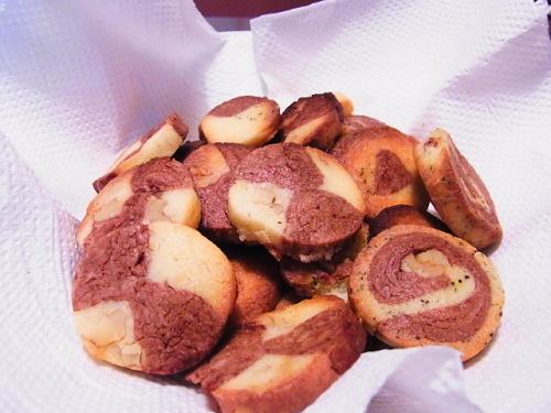 くるみのアイスボックスクッキー