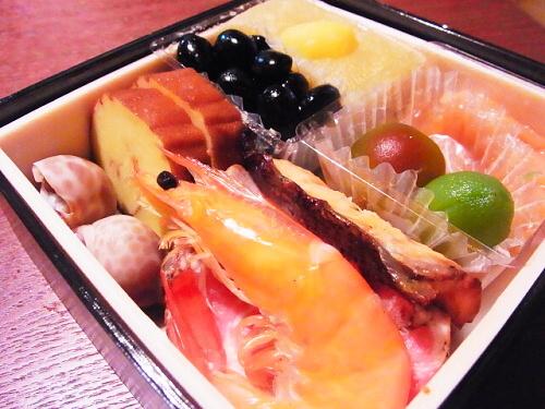 R1157429 2013年版博多久松おためしおせちが届いた。食べた感想。