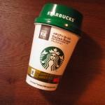コンビニで買った、スターバックスのインスタントコーヒー飲んだ