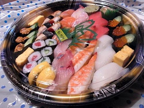 R1159229 ネットで寿司の宅配を頼んだら、ちゃんと届いて楽天のポイントがたまった