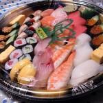 ネットで寿司の出前をたのんだら、ちゃんと届いて楽天のポイントがたまった