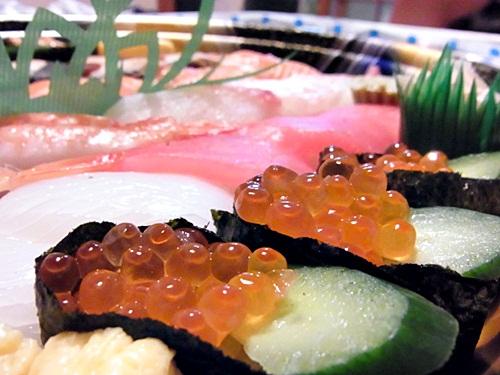 R1159232 ネットで寿司の出前をたのんだら、ちゃんと届いて楽天のポイントがたまった