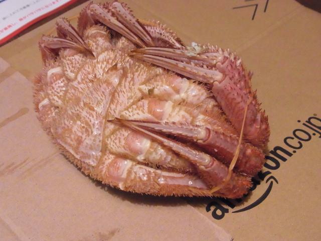 R1159348 ネット通販で毛蟹をお取り寄せしました(去年の失敗から学ぶ)