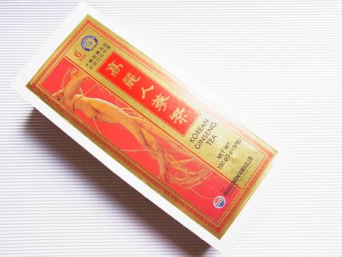 RIMG0001 [韓国土産]夫がマンドレイク買ってきたと思ったら、高麗人参茶だった