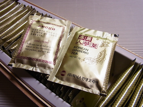 RIMG0002 [韓国土産]夫がマンドレイク買ってきたと思ったら、高麗人参茶だった