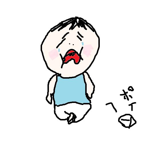 akachan94 1歳児のかなしみ