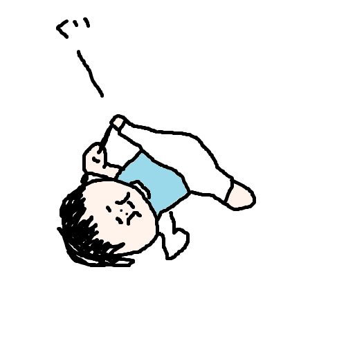 akachan96 1歳児いきなり寝る